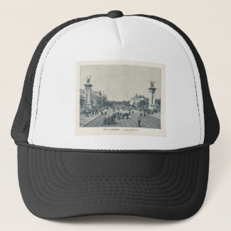 France, Paris Expo 1900 Trucker Hat
