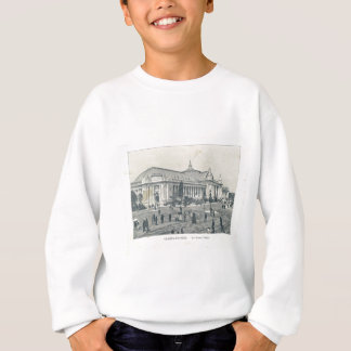 France, Paris Expo 1900, World Showcase Sweatshirt