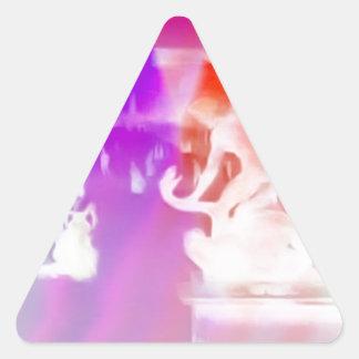 France, Paris, Jardin de Tuilleries, Triangle Sticker