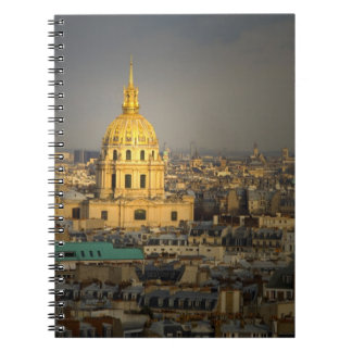 France, Paris. Les Invalides seen from the Notebooks