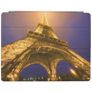France, Paris. Looking up from base of Eiffel iPad Cover