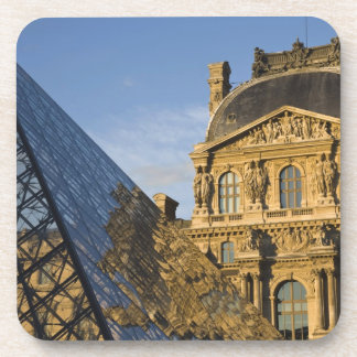 France, Paris, Louvre Museum and the Pyramid, Coaster