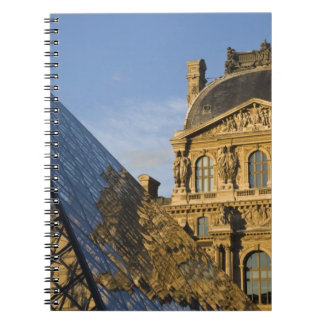 France, Paris, Louvre Museum and the Pyramid, Notebook