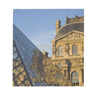 France, Paris, Louvre Museum and the Pyramid, Notepad