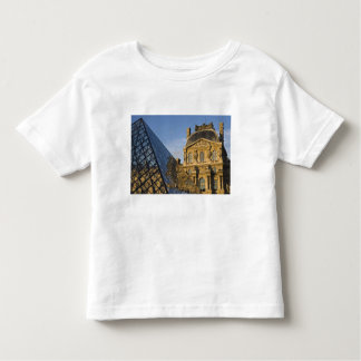 France, Paris, Louvre Museum and the Pyramid, Toddler T-Shirt