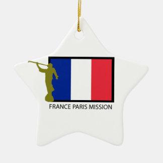 FRANCE PARIS MISSION LDS CTR CHRISTMAS ORNAMENT