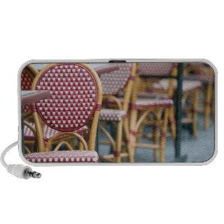 FRANCE, PARIS, Montmartre: Place du Tertre, Cafe Notebook Speaker