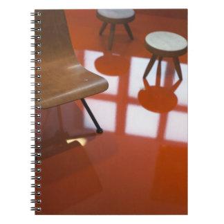 France, Paris, Museum of Decorative Art, exhibit Spiral Note Book