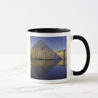 FRANCE, Paris Reflection, Pyramid. The Louvre Mug