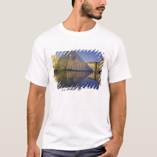 FRANCE, Paris Reflection, Pyramid. The Louvre T-Shirt