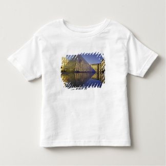 FRANCE, Paris Reflection, Pyramid. The Louvre Toddler T-Shirt