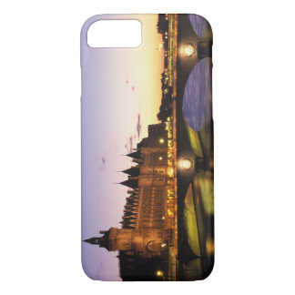 France, Paris, River Seine and Conciergerie at iPhone 8/7 Case