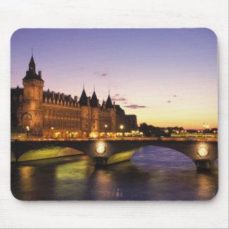 France, Paris, River Seine and Conciergerie at Mouse Mat
