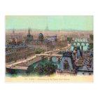 France, Paris, River Seine Postcard
