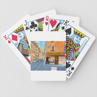 France, Paris,Rue Dominique Bicycle Playing Cards