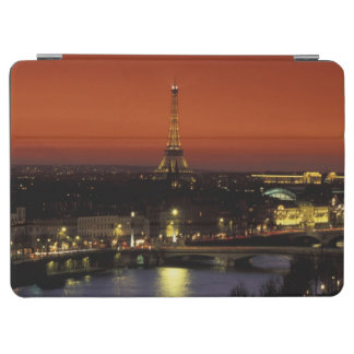 France, Paris Sunset view of Eiffel Tower and iPad Air Cover