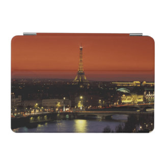 France, Paris Sunset view of Eiffel Tower and iPad Mini Cover