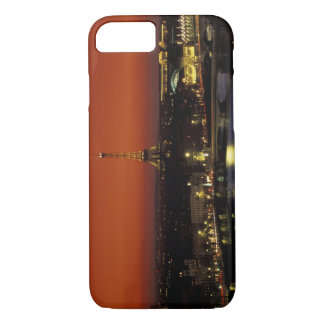 France, Paris Sunset view of Eiffel Tower and iPhone 8/7 Case