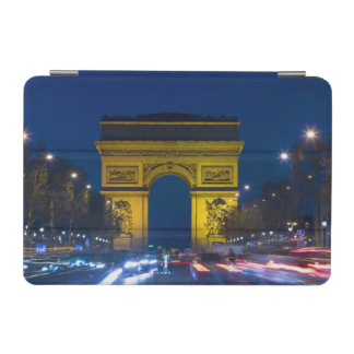 France, Paris. The Arc de Triomphe and the iPad Mini Cover