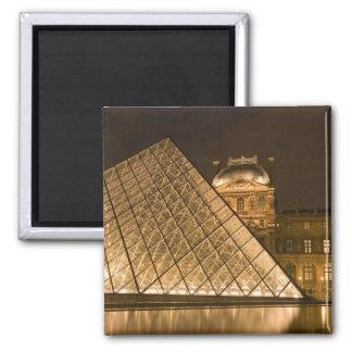 France, Paris. The Louvre at twilight. Credit 2 Magnet