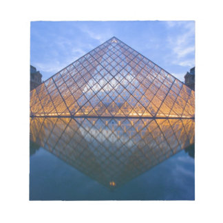 France, Paris. The Louvre at twilight. Credit Notepad