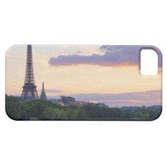 France,Paris,tour boat on River Seine,Eiffel iPhone 5 Cover