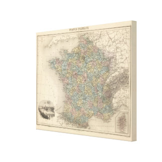 France Politics Canvas Print
