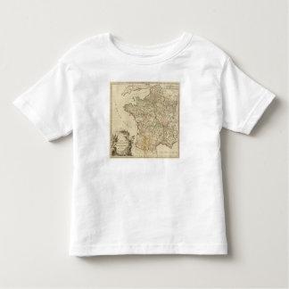 France Postal Roads Toddler T-Shirt