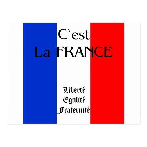 France Post Card