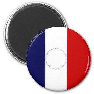 France President Flag Magnet