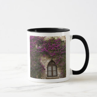 France, Provence, Eze. Bright pink Mug