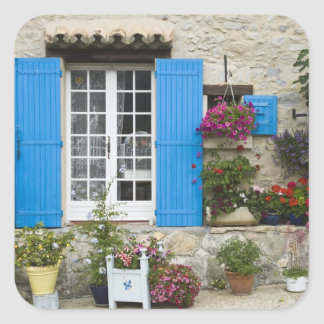 France, Provence, Saint-LÈger-du-Ventoux. Square Sticker