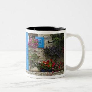 France, Provence, Saint-LÈger-du-Ventoux. Two-Tone Coffee Mug
