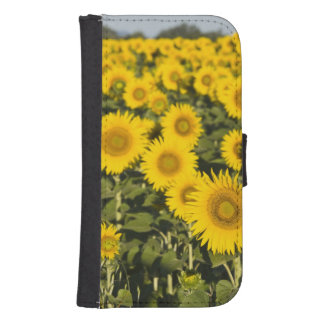 France, Provence, Valensole. Field of Samsung S4 Wallet Case