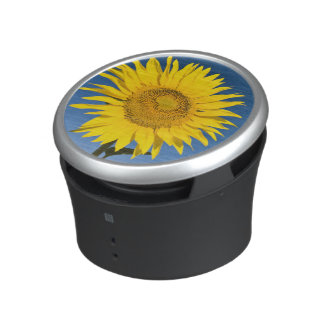 France, Provence, Valensole. Sunflowers stand Bluetooth Speaker