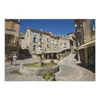France, Provence, Valensole. Tourists explore Photograph