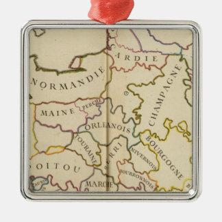 France, Providences and Boundaries Christmas Ornament