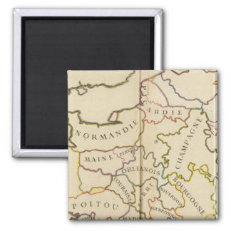 France, Providences and Boundaries Magnet