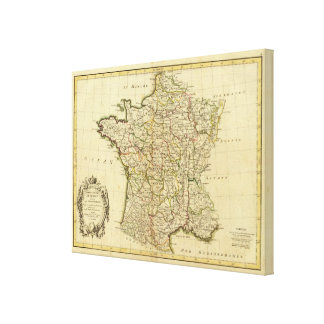 France Providences Canvas Print