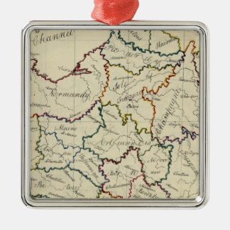 France provinces christmas ornament