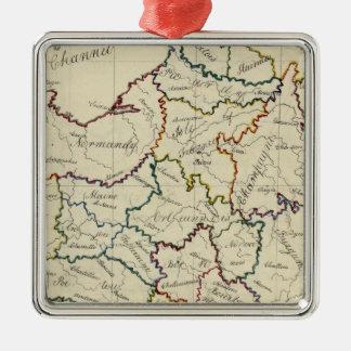 France provinces christmas ornament