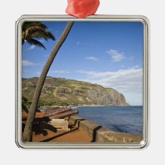 France, Reunion Island, St-Denis, view of La Christmas Ornament