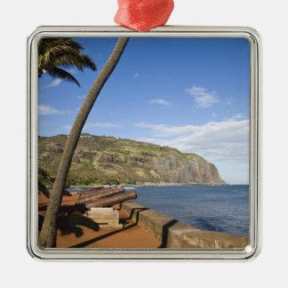 France, Reunion Island, St-Denis, view of La Christmas Ornament