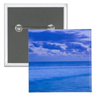 France, Reunion Island, St-Pierre, waterfront 15 Cm Square Badge