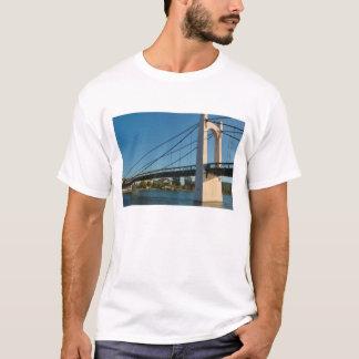 France, Rhone-Alps, Condrieu, bridge across 2 T-Shirt