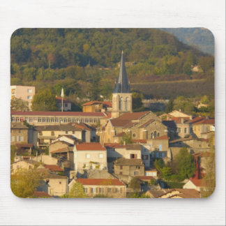 France, Rhone River, town near Vienne Mouse Mat