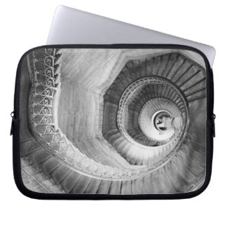 FRANCE, Rhone Valley, LYON: Traboule Staircase Laptop Sleeve
