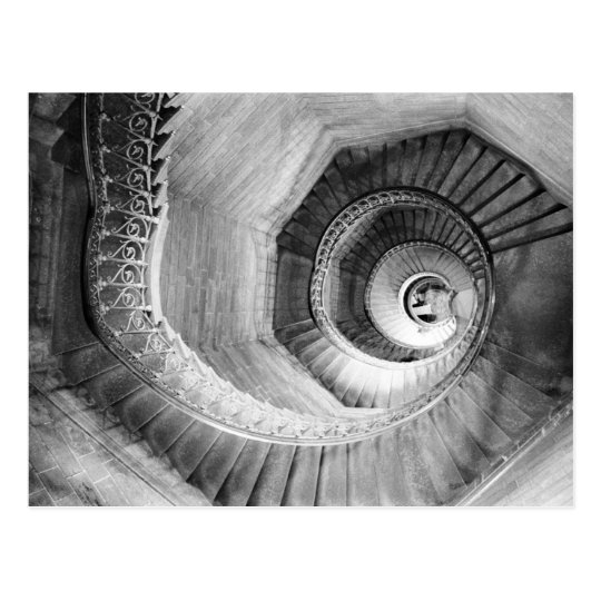 FRANCE, Rhone Valley, LYON: Traboule Staircase Postcard