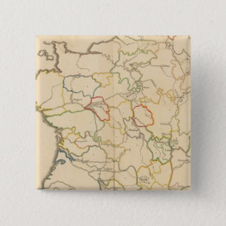 France Rivers 15 Cm Square Badge