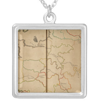France Rivers Silver Plated Necklace